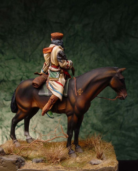 Davide Chiarabella - Models Soldiers for collectors - Indian Trapper