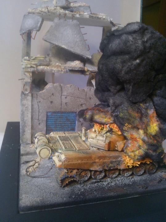 T-72 Fuoco e fiamme © Alessandro Tulli