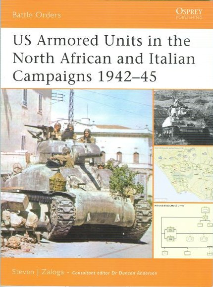 US Armored units in the North African and Italian Campaigns 1942-45