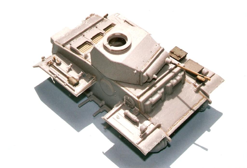 Panzer II Ausf. J - © Andrea & Antonio Tallillo - Click to enlarge