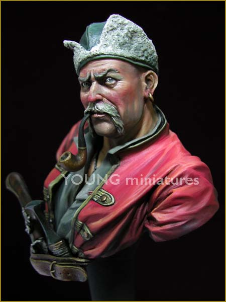 Cossacks 1676 scultura di greeny ahn pittura di young b song