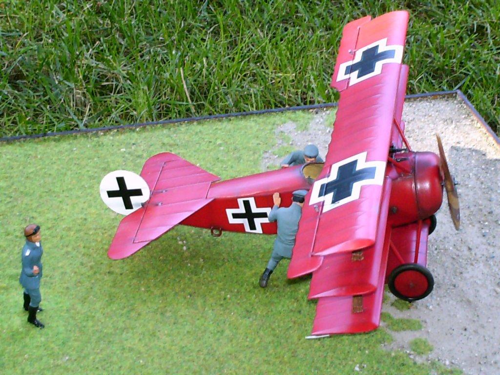Fokker Dr1 © Ezio Bottasini - Click to enlarge