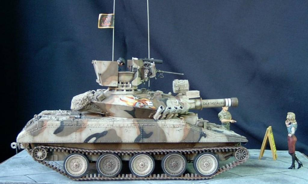 M551 Sheridan © Luigi Cuccaro - Click to enlarge