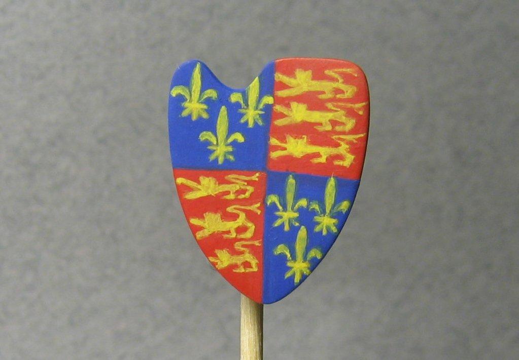 Henry V - Realizzazione dell'araldica © Marco Berettoni - Click to enlarge