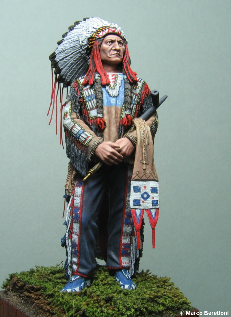 Sitting Bull © Marco Berettoni - Click to enlarge