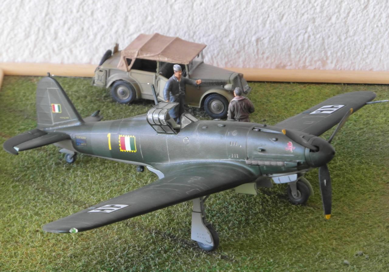Aereo Militare REGIA Aereonautica Italiana FIAT G.55 Centauro 353°squadriglia