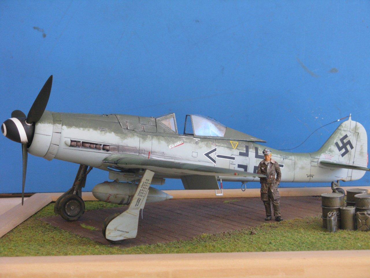 Focke Wulf 190 D-9 © Marco Vergani - Click to enlarge