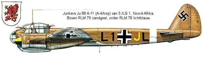 JUNKERS Ju. 88 A-11 - Click to enlarge