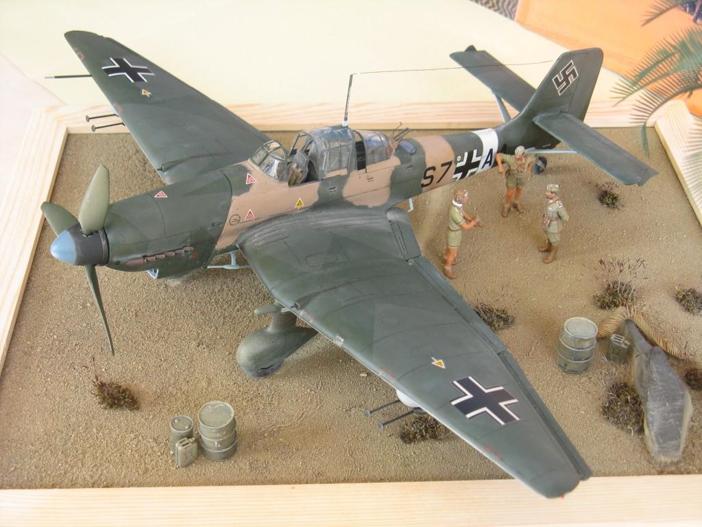 Junkers Ju87D-1 © Marco Vergani - Click to enlarge