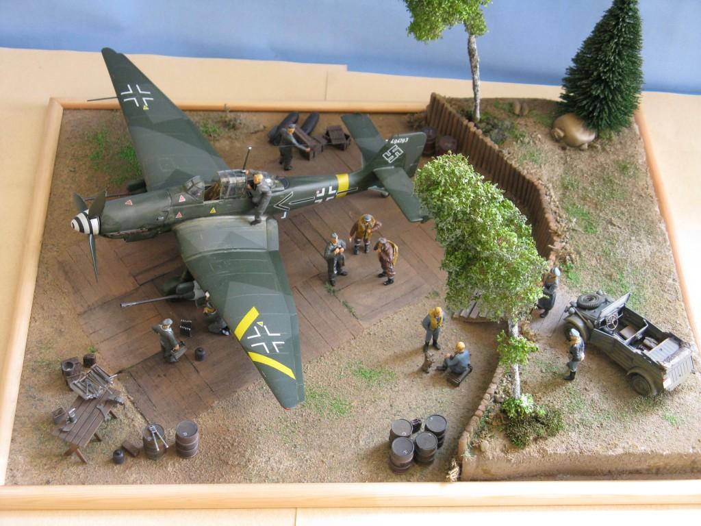 Junkers Ju 87G-2 © Marco Vergani - Click to enlarge