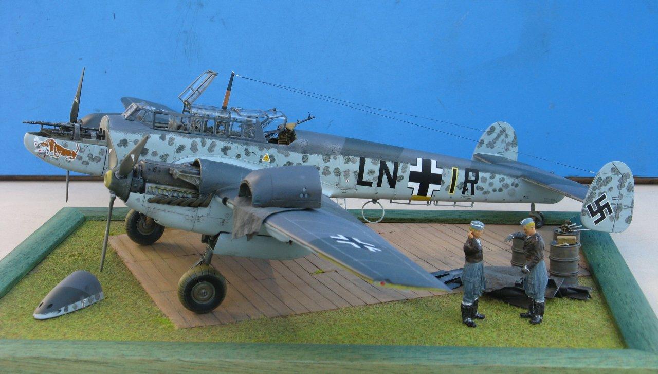 Messerschmitt Bf. 110 © Marco Vergani - Click to enlarge