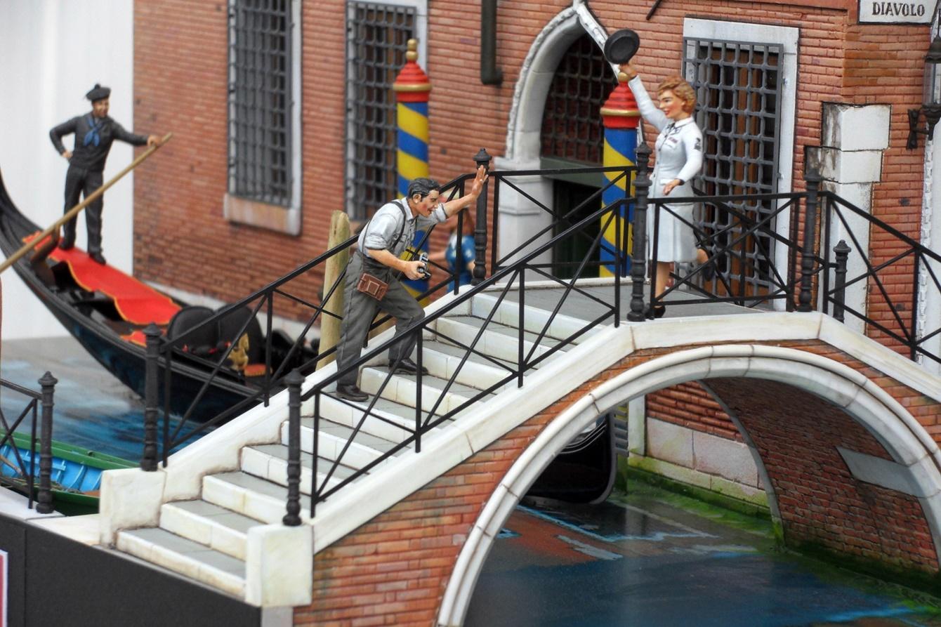 Venezia smile il ponte pietro ballarini for Gradini del ponte curvi