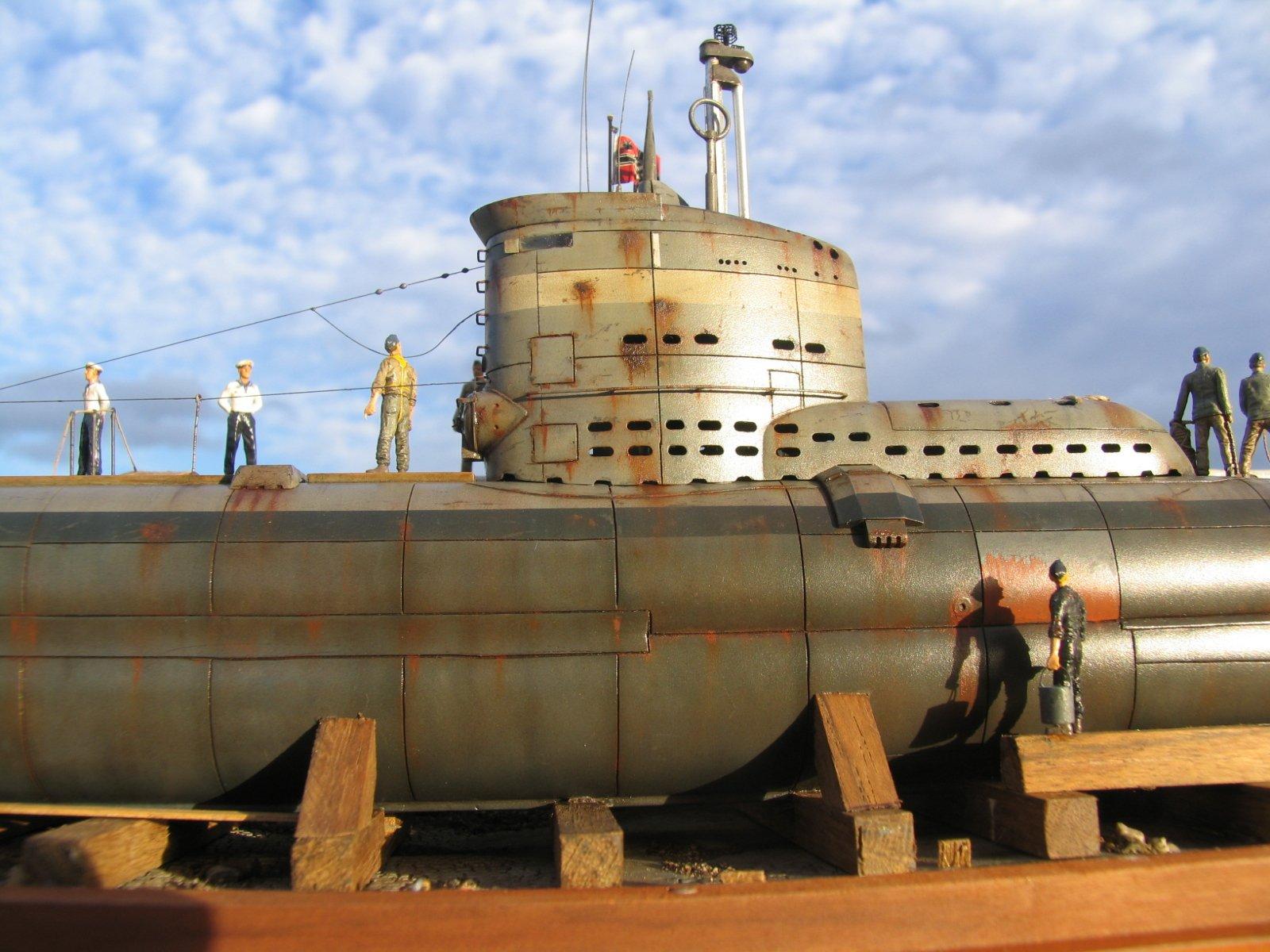 U-boot Type Xxiii In Bacino Di Carenaggio