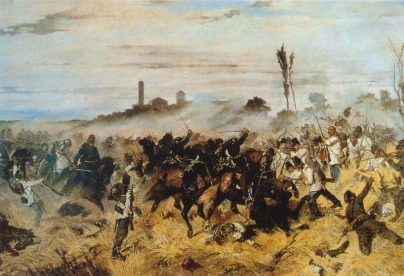 La battaglia di Montebello - Click to enlarge