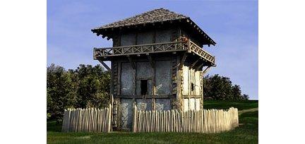 Torre con palizzata