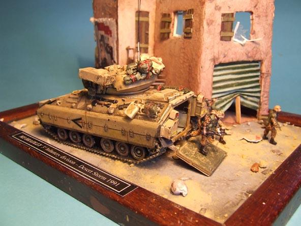 M2 Bradley - Desert Storm © Stefano Lana - Click to enlarge
